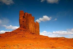 foto perfetta nella valle del monumento in arizona