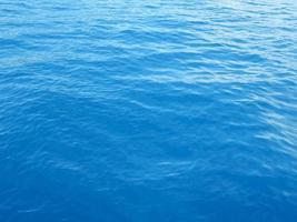 la consistenza dell'acqua del Mar Egeo foto
