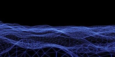 fondo di struttura della luce al neon della maglia della luce laser foto