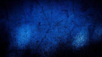 sfondo grunge della parete blu. sfondo astratto foto