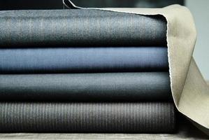 tessuto di cotone colorato, tessuto fine foto