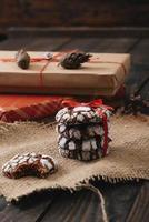 biscotti al cioccolato foto