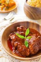 biryani di pollo indiano foto