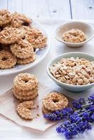 biscotti alle arachidi foto