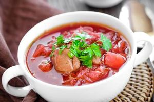 zuppa di borscht foto