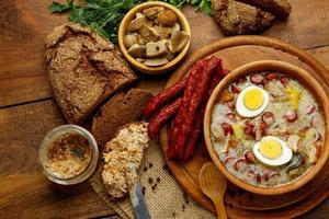 zurek polacco tradizionale zuppa di pasqua