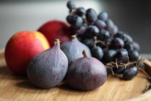 frutti autunnali freschi foto
