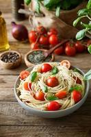 pasta con olio d'oliva