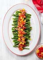 fagiolini e verdure