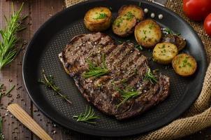 bistecca di manzo foto