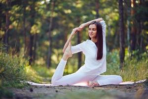 amante dello yoga foto