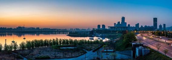 alba di Seoul foto
