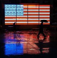 bandiera degli Stati Uniti foto