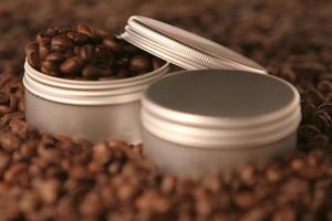 barattoli di caffè foto