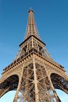 architettura della torre eiffel foto