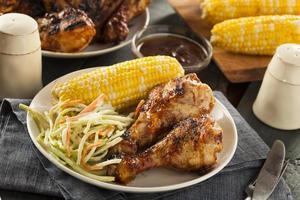 pollo alla griglia alla griglia fatto in casa foto