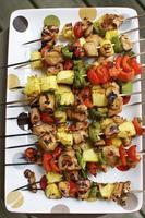 kebab di pollo foto