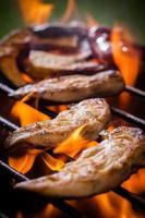 barbecue di pollo