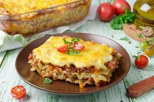 lasagne italiane foto
