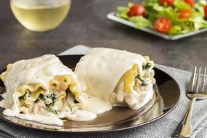 Rotolo di lasagne di maiale kalua foto