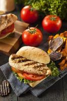 sandwich di pollo alla griglia sano