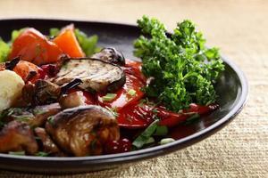verdure arrosto foto