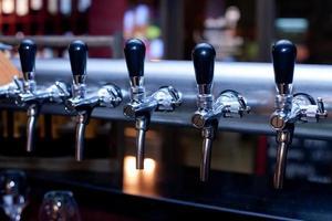 rubinetto della birra foto