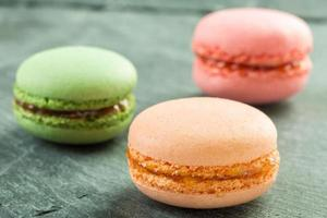 macarons colorati foto