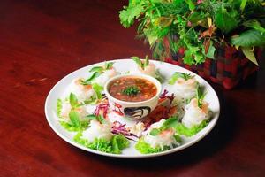 cibo thailandese foto