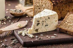 formaggio blu delizioso formaggio foto