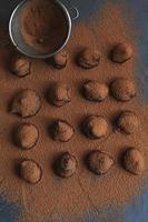 Tartufi al cioccolato foto