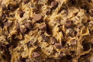 pasta biscotto al cioccolato fatta in casa foto