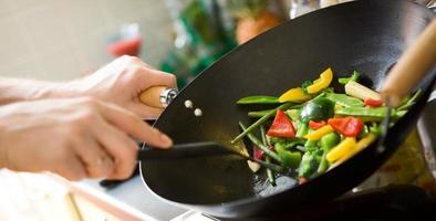 cucina dello chef foto