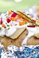 patate al forno foto