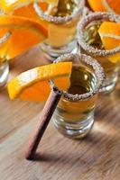 tequila con arancia e cannella