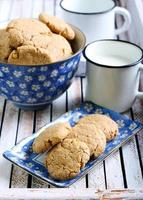 biscotti al burro di arachidi foto