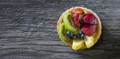tartina alla frutta