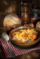 zuppa di rutabaga foto