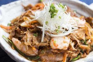 buta kimchi food foto