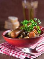 linsensuppe in Einer Schale foto