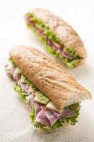 Sandwich al prosciutto foto