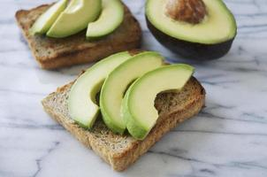 Toast all'avocado foto