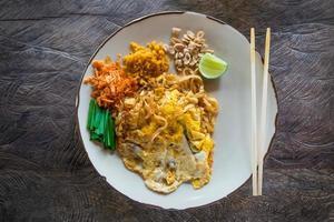 Padthai, cibo tradizionale thailandese foto