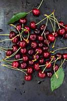 ciliegie fresche foto