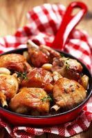 pollo arrosto con aglio