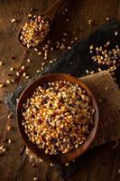 popcorn di calicò multicolore organico crudo