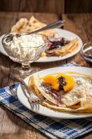 Pancakes. foto