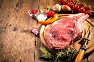 bistecca alla brace foto