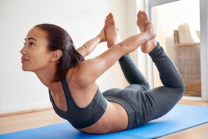 esercizio di yoga