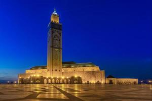 moschea hassan ii, casablanca foto